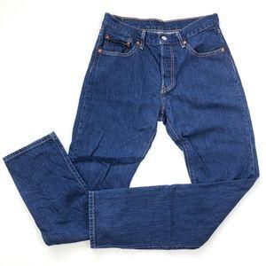 Levi's | 501 Strait Leg Button Fly Mom Jeans